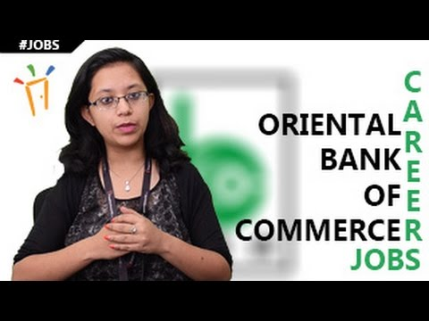 Oriental Bank of Commerce  Recruitment Notification 2017 - I
