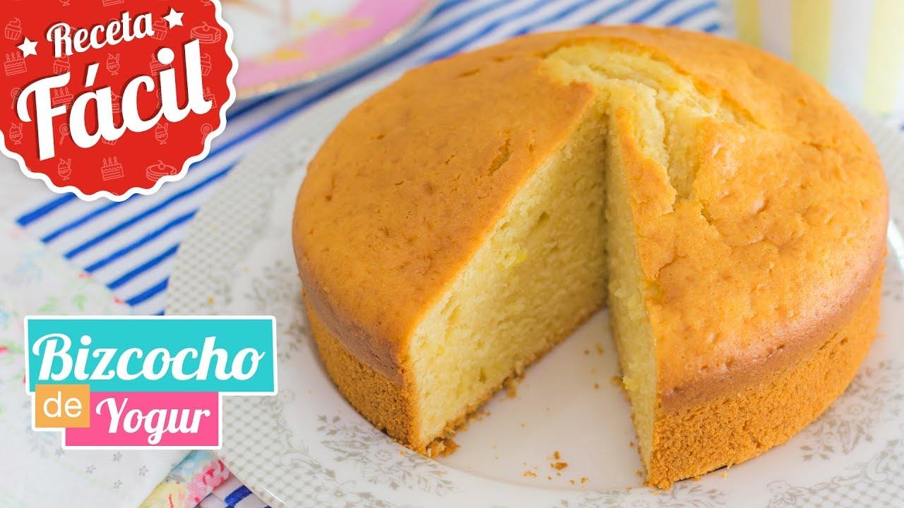 Bizcocho de yogur receta f cil quiero cupcakes youtube for Bizcocho de yogur de limon esponjoso facil