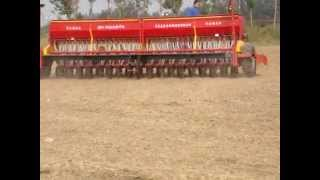 2BFY-36 Hydraulic Grain Seed Drill with Fertilizer