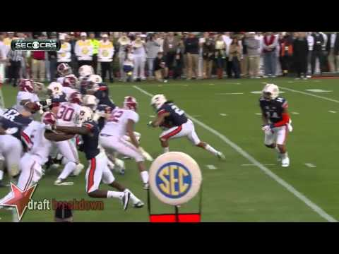 #21 Tre Mason, RB, Auburn vs Alabama