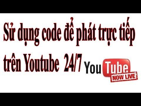 Hướng dẫn live stream youtube bằng code ffmpeg