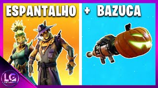 * REVEALED * SCARECROW SKIN + BAZOOKA HEAD OF DOME ON HALLOWEEN | FORTNITE BATTLE ROYALE