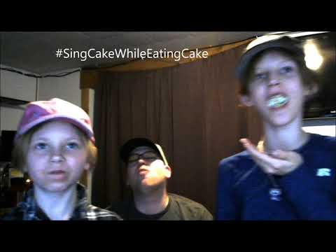 #SingCakeWhileEatingCake