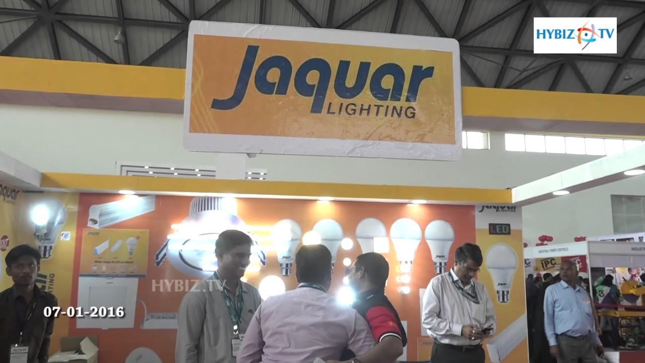 Jaquar Lighting Electriexpo 2017 Hitex Hyderabad Hybiz You & Jaquar Lighting Logo | www.lightneasy.net