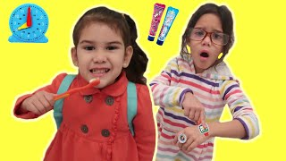 Hurry up to School Song Nursery Rhymes for Kids | Morning Routine for School