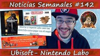 Noticias semanales #142 - UBISOFT sale de las SOMBRAS - Nintendo LABO - Bayonetta 3 - Konami