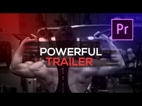 Powerful Sports Trailer   Sports Slideshow   Free Template Premiere Pro