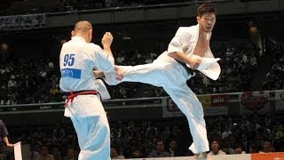 THE 45TH ALL JAPAN OPEN KARATE TOURNAMENT men 4th round Kazuhito Ya...