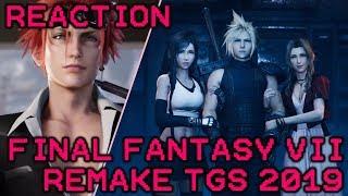 Final Fantasy VII Remake Tokyo Game Show 2019 Trailer Reaction