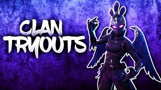 Fortnite Clan Tryouts / Fortnite Clan Recruitment Ps4 (Live)