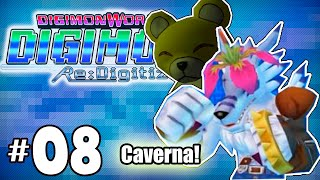Caverna! - Digimon World Re: Digitize parte 08 - Detonado em portugues HD