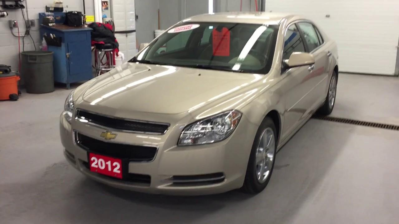 2012 Chevrolet Malibu 4dr Sdn Lt Gold Mist Metallic