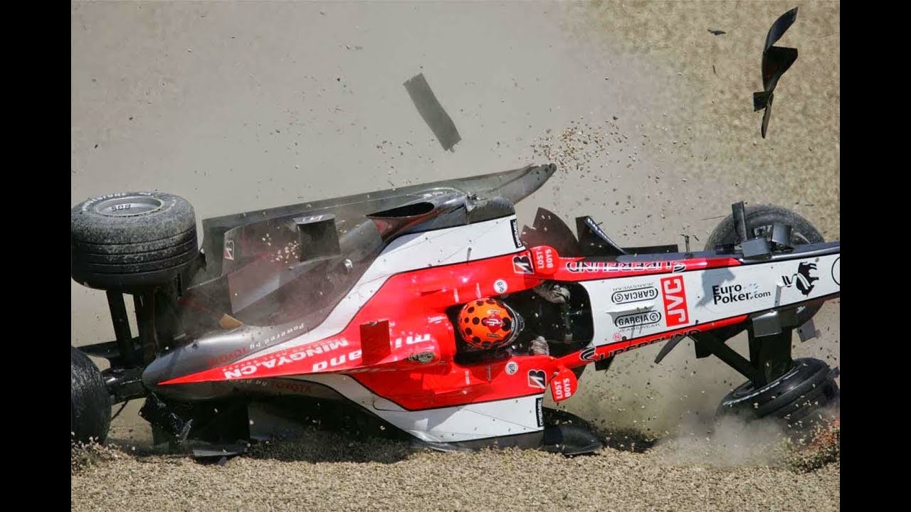 The five most accident-prone F1 drivers | GRR