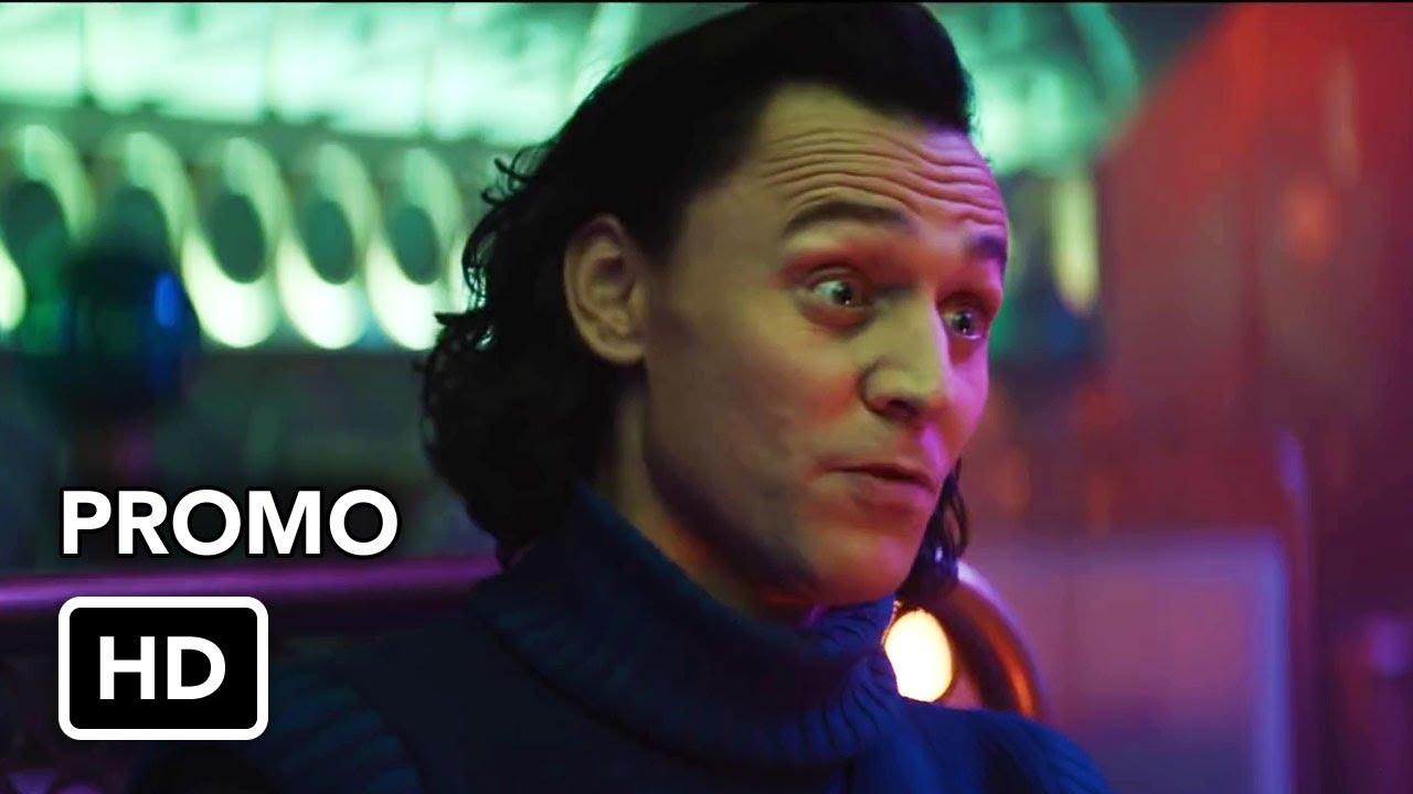 "Marvel's Loki (Disney+) ""Chaos"" Promo HD - Tom Hiddleston Marvel superhero  series - YouTube"