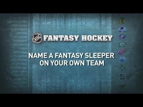 Fantasy Hockey: NHL Stars Pick Sleeper Teammates
