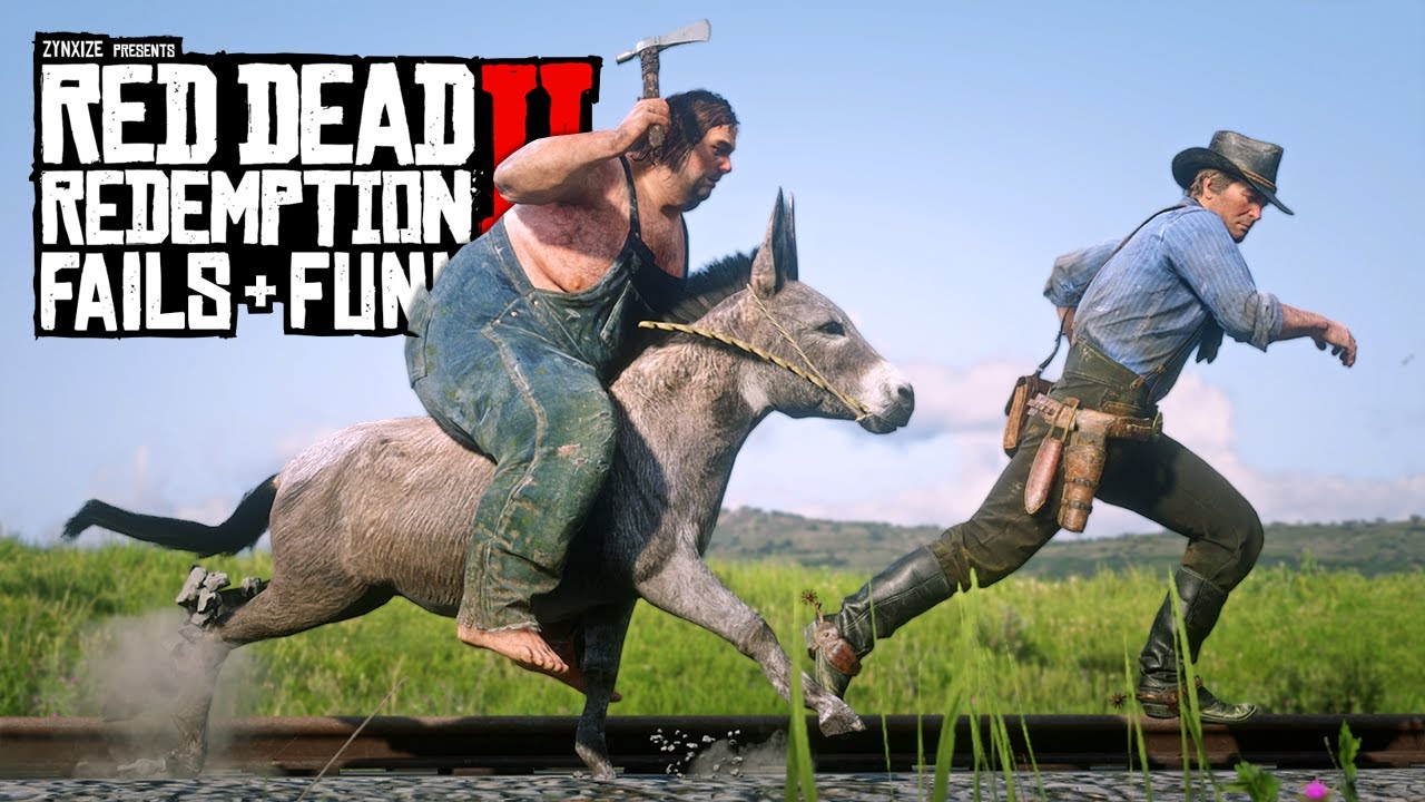 Red Dead Redemption 2 - Fails & Funnies #144 thumbnail