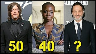 The Walking Dead From Oldest to Youngest