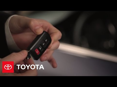 2014.5 Camry How-To: Smart Key | Toyota