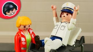 Tonis Unfall!   Playmobil Polizei Film   KARLCHEN KNACK #309