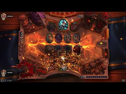 Hearthstone Warlock Win