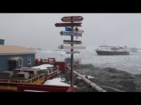Tour Antarctica's Palmer Station