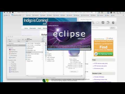 Android Application Development Tutorial - 2 - Installing Eclipse and Setting up the ADT