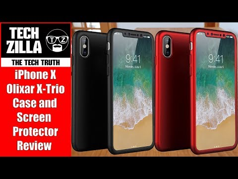 Olixar XTrio Full Cover iPhone 7 Plus Case - Red