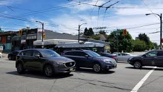 Vancouver WALK: COMMERCIAL DRIVE Part 1 - Powell St. to Venables St. on Car Free Day, July 8, 2018