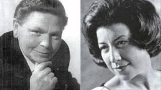 "Franz Fehringer & Anny Schlemm ""Liebe, ich sehn`mich nach dir""  Kálmán"