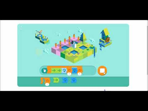 7aee81a042c3 Google Doodle 2017 - Celebrating 50 years of Kids Coding Answers Shortest  Solutions Coding History