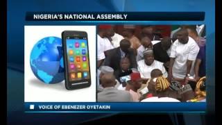 Africa Today on Nigeria national assembly drama with Liborous Oshoma and Ebenezer Oyetakin