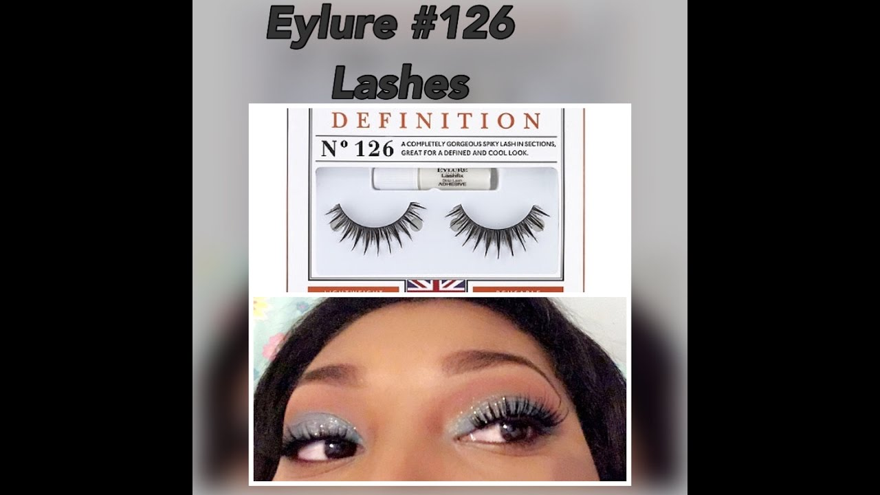 b18e3259f71 EYLURE 126 LASHES REVIEW - YouTube