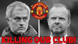 José Mourinho nearing the SACK?? They are KILLING our club! The Football Terrace