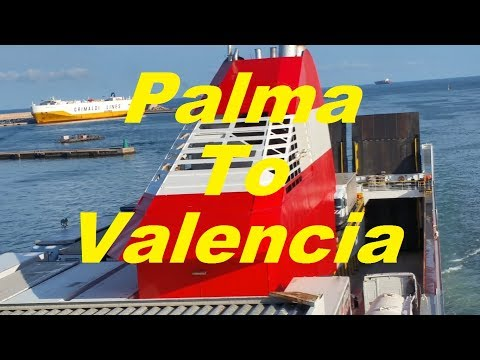 Palma to Valencia ferry trip on Forza
