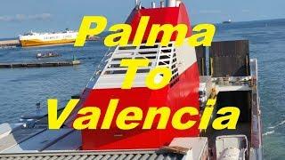 Palma to Valencia ferry trip on Forza