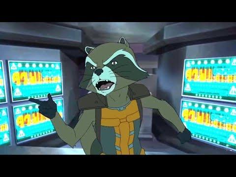 Стражи галактики: Новая миссия - мультфильм Marvel – серия 13 сезон 3