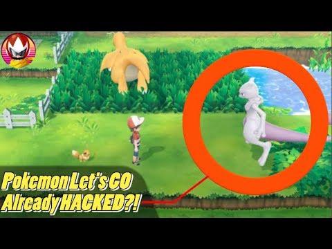 Pokemon Let's GO Pikachu Already Hacked Before Release?! thumbnail