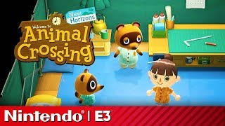 24 Minutes of Animal Crossing New Horizons Gameplay | Nintendo Treehouse E3 2019