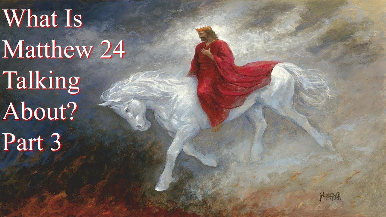 what is matthew 24 about