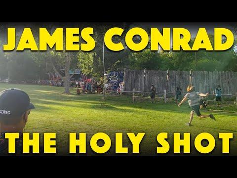 James Conrad - The Holy Shot - Disc Golf World Championships Final Round