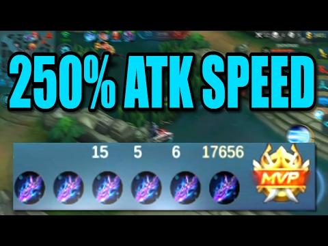 Mobile Legends - LAYLA 250% ATK SPEED! 6/28 Gameplay February Marathon!! #37