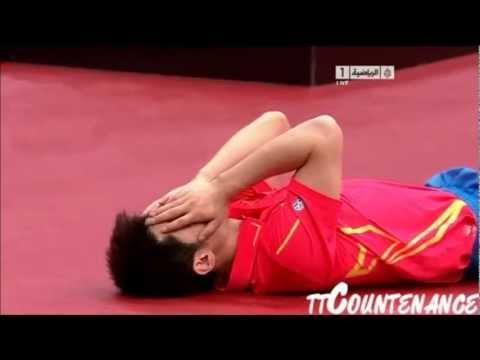 Amazing Table Tennis Shots 2011