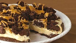 Peanut Butter-brownie Pie