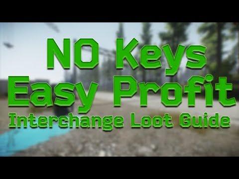 Get Rich In Interchange - Escape From Tarkov Loot Guide [No Keys Needed]