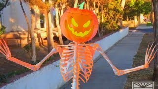 SCARY SKELETONS DANCE TO TRAP MUSIC - HALLOWEEN SPECIAL