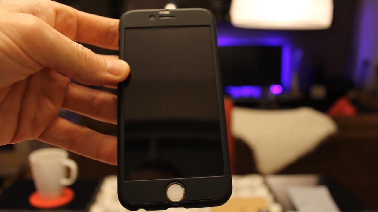 iphone 6 360 black case