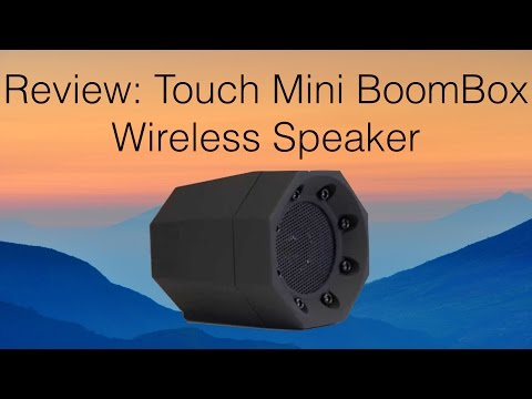 [4K] Review: Touch Mini BoomBox Wireless Speaker