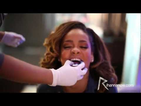 UNLOCKED: Rihanna - You Da One Getting fitted for a Grill!