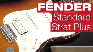 Fender Standard Stratocaster HSS Plus Top RW TB E-Gitarren-Review von session
