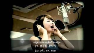 Navi - Wasteful Tears ft Hyuna [English Subs+Romanization+Hangul]